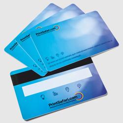 Plastikkarten mit Magnetstreifen & Unterschriftenfeld